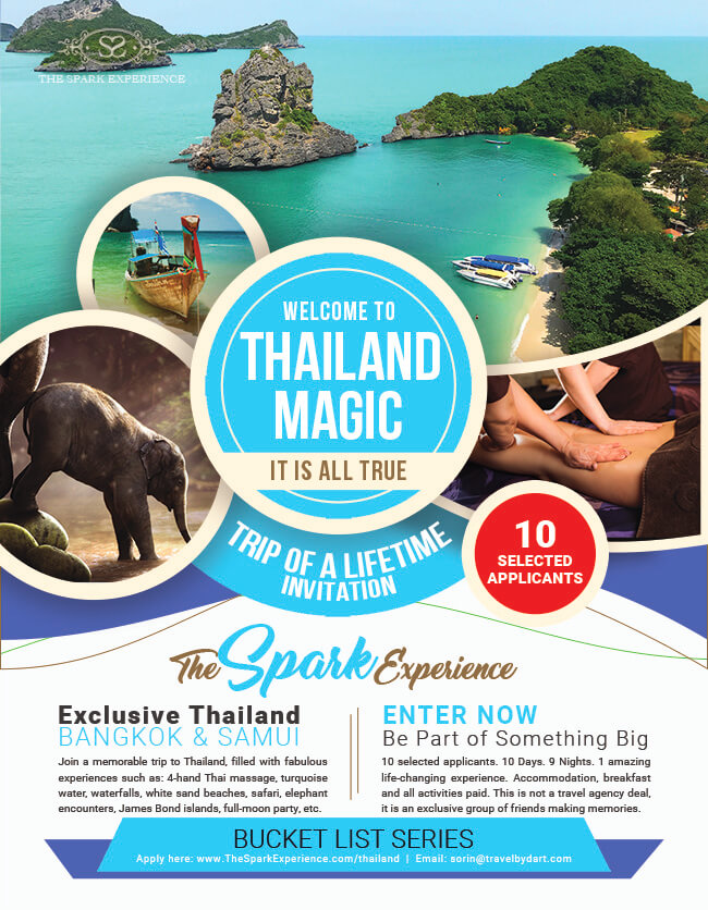 thailand bucket list